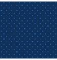Navy Royal Blue Star Polka Dots Background vector image vector image