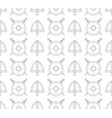 seamless viking pattern with shields swords vector image vector image