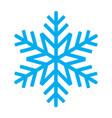 snowflake 01 vector image vector image