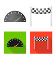 car and rally logo set of vector image vector image