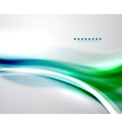 Colorful wave business template vector image vector image