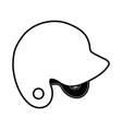 helmet baseball related icon image vector image vector image