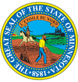 Minnesota Seal vector image vector image