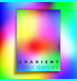 vivid gradient texture background design for vector image vector image