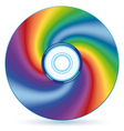 Abstract CD vector image