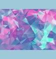 abstract modern background with triangles vector image