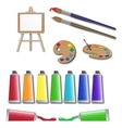 Artists supplies icons