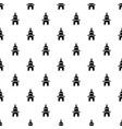 church pattern seamless vector image