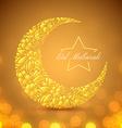 Eid Mubarak islamic festive background vector image vector image