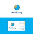 flat graph logo and visiting card template vector image vector image