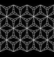 geometric seamless pattern triangular lattice vector image