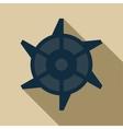 Mining Industry cogwheel icon flat style vector image