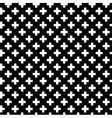 Monochrome elegant seamless pattern vector image