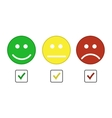 Smiley emoticons icon vector image vector image