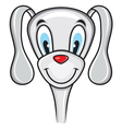 Cute funny dog vector image vector image