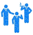 Discuss Standing Persons Grainy Texture Icon