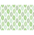 green leaves seamless pattern backdrop for art vector image vector image