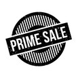 prime sale rubber stamp vector image vector image