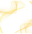 satin soft mild golden lines layout vector image vector image