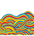 waves vector image vector image