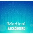Blue medical background vector image