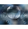 Abstract defocused background with transparent vector image