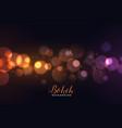 awesome defocused bokeh lights background vector image