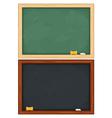 blackboards vector image vector image