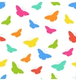 Butterflie pattern vector image vector image
