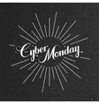 Cyber Monday Sale label vector image vector image