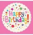 Happy Birthday 15 vector image vector image
