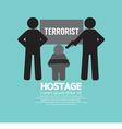 Hostage Concept vector image