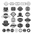Insignia stamp set vector image vector image