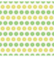 seamless pattern background lemon and lime vector image