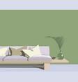 sketch interior design vector image vector image