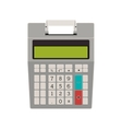 tech calculator without paper print vector image