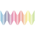 wave line abstrack background vector image vector image