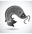 Chinese fish3 vector image
