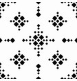 black and white seamless abstract pattern vector image vector image