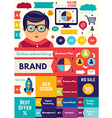 Business strategy infographic vector image