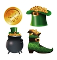 collection st patrick day traditional vector image vector image