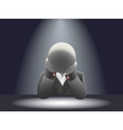 Faceless businessman vector image vector image