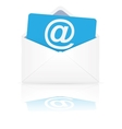 Open envelope with email vector image