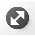 resize icon symbol premium quality isolated vector image vector image