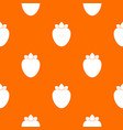 ripe persimmon pattern seamless vector image vector image