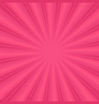 sunburst on pink background vector image