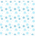 abstract seamless pattern of falling blue vector image