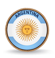 Argentina Seal vector image