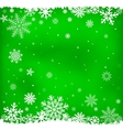 green snow mesh background vector image vector image