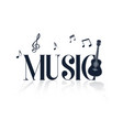 Music guitar music note background image